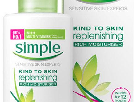 Simple Kind To Skin Replenishing Rich Moisturiser 125 ml