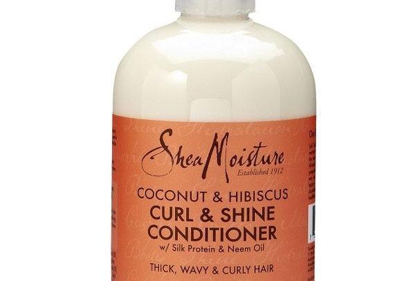 Shea Moisture Coconut & Hibiscus Curl & Shine Conditioner 8fl.oz.