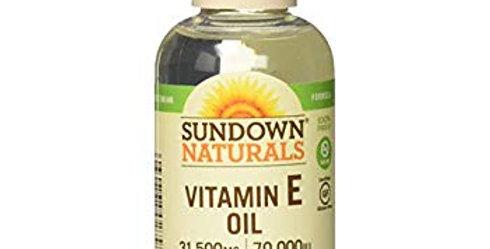 Sundown Naturals Vitamin E Oil - 70000 IU - 2.5 fl oz
