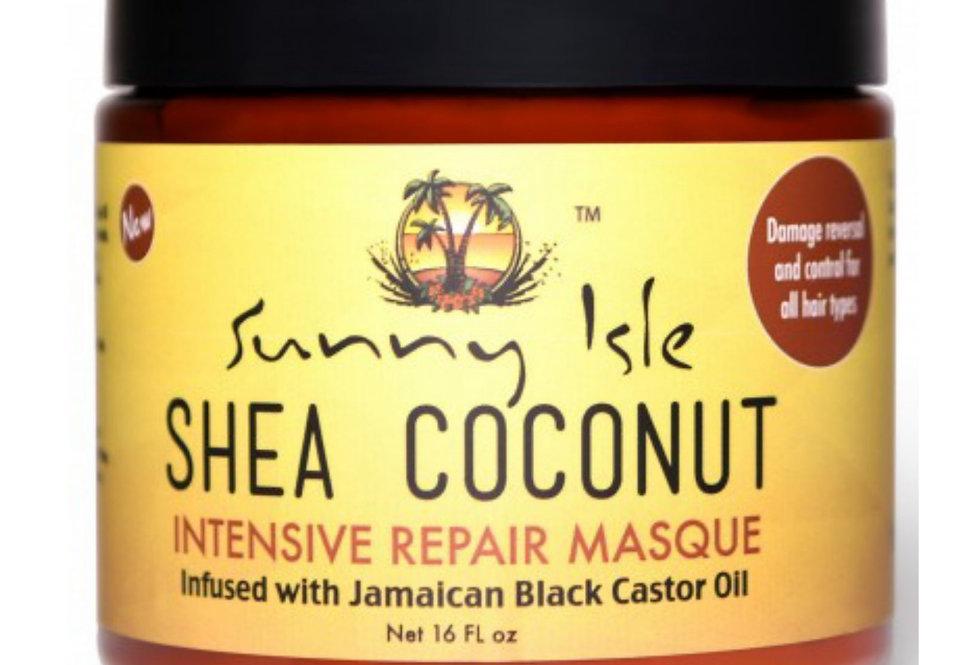 Sunny Isle Shea Coconut Intensive Masque Repair 16 oz