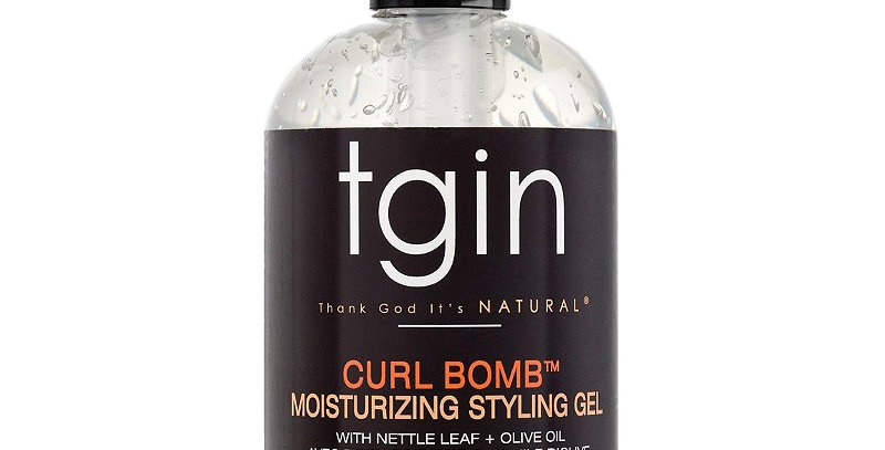 TGIN Curl Bomb Moisturizing Styling Gel  384 ml / 13 oz.