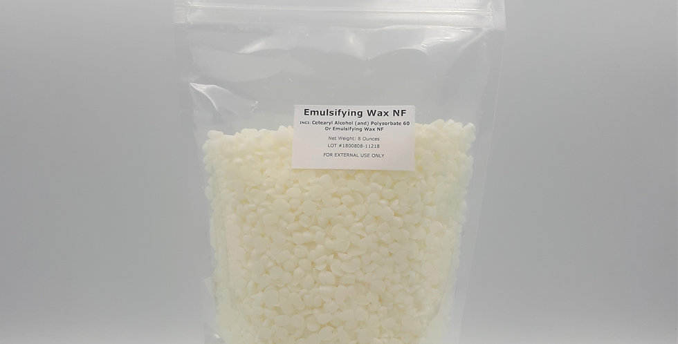 Emulsifying Wax  NF - E-Wax 8 oz