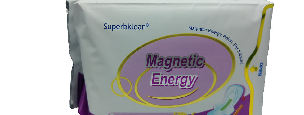 Superbklean Magnetic Anion Sanitary Pads & liners