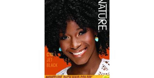 Creme Of Nature Moisture Rich Liquid Hair Color Kit, C10 Jet Black