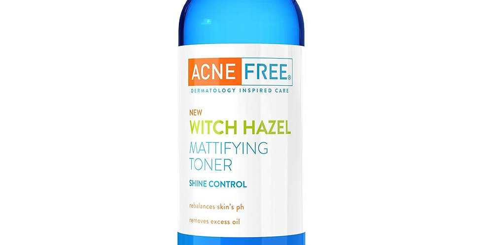 Acne Free Witch Hazel Mattifying Toner 8.4 oz