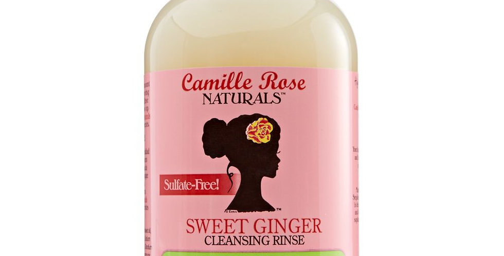 Camille Rose Sweet Ginger Cleansing Rinse (Shampoo) 12oz/355ml