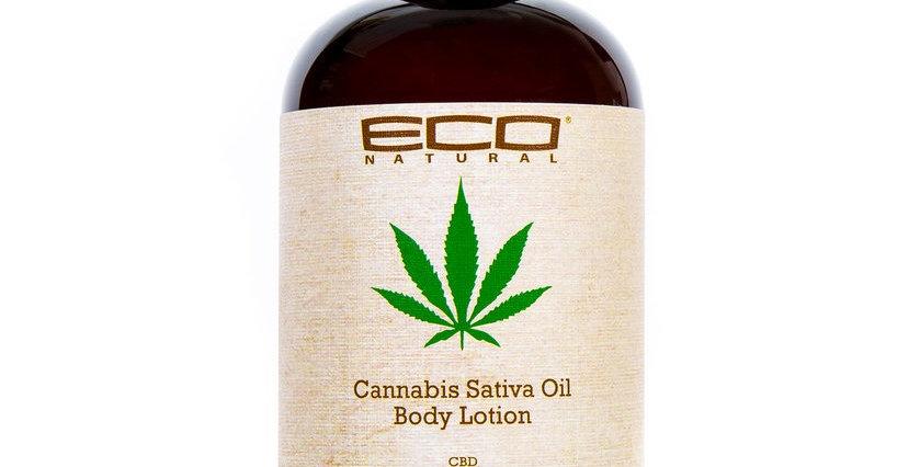 Eco Natural Cannabis Sativa Body Lotion 8 oz. / 237 ml