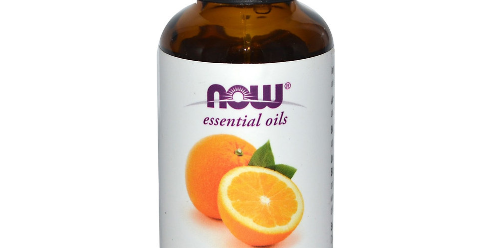 NOW Foods Essential Oils Orange -1 fl oz