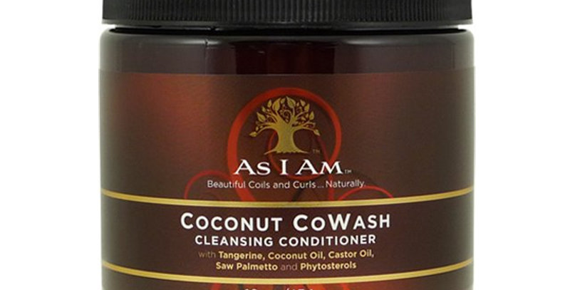 As I Am Coconut Co-Wash Cleansing Conditioner 16 oz.