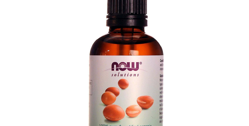 NOW Foods Solutions Organic Argan Oil - 2 fl oz