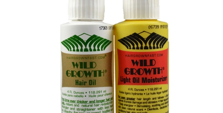 Wild Growth Oils DUO 4 oz