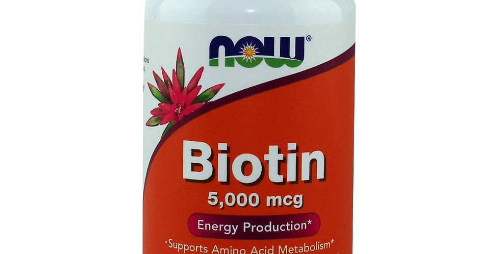 NOW Foods Biotin 5000mcg