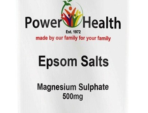 Powerhealth Epsom Salt 500g