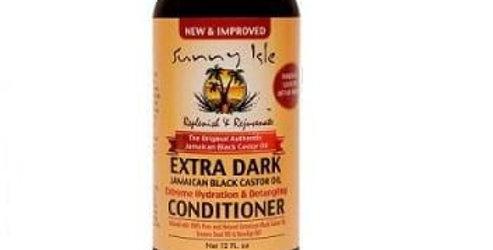 Sunny Isle Extra Dark JBCO Extreme Hydration & Detangling Conditioner 12 fl oz