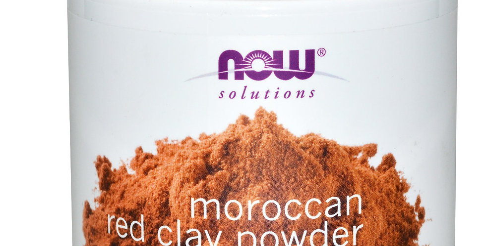 NOW Foods Solutions Moroccan Red Clay Powder