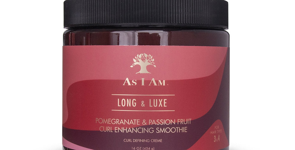 As I Am Long and Luxe Curl Enhancing Smoothie  – 16 oz./454g