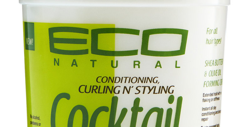 Eco Cocktail Olive & Shea Butter Cream 8oz