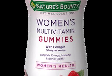 Nature's Bounty Women's Multivitamin Gummies Raspberry 50 mg - 80 Gummies
