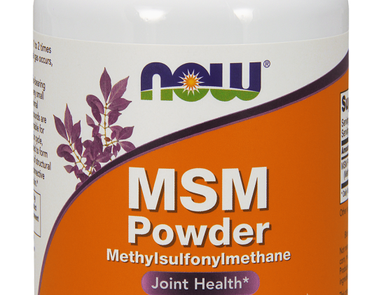 NOW MSM Powder 8 oz/227g