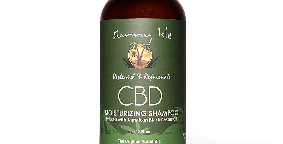 Sunny Isle CBD Moisturizing Shampoo 12Oz
