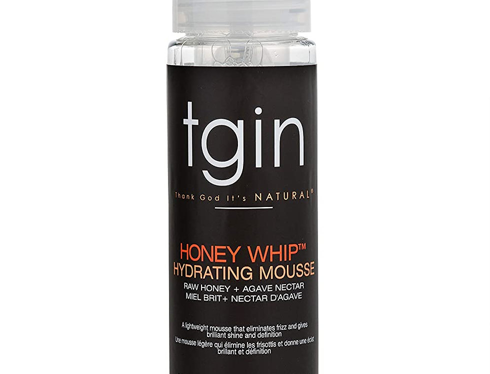 TGIN Honey Whip Hydrating Mousse  236 ml /8 oz.