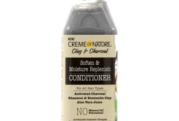Creme of Nature Clay & Charcoal Soften & Moisture Replenish Conditioner 355ml