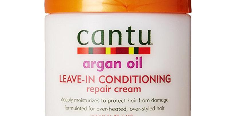 Cantu Argan Oil Leave In Conditioning Repair Cream 16 oz.