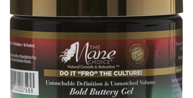 """The Mane Choice Do It """"FRO"""" The Culture Bold Buttery Gel 12 oz."""
