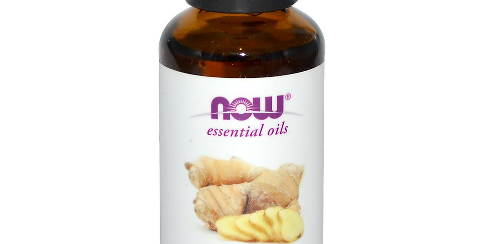 NOW Ginger Oil 30ml(1oz)