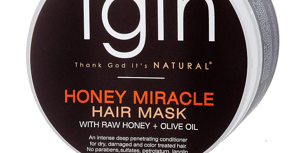 TGIN Honey Miracle Hair Mask 340 g / 12 oz.