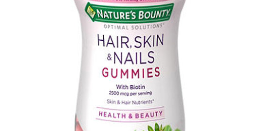 Natures Bounty Optimal Solutions Hair, Skin & Nails Strawberry 220 G
