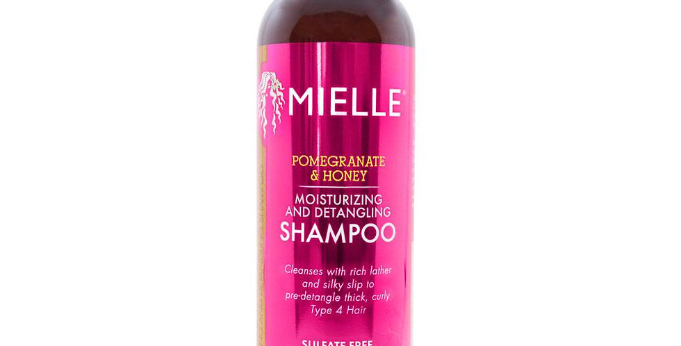 Mielle Organics Pomegranate &Honey Moisturizing & Detangling Shampoo 12 oz.