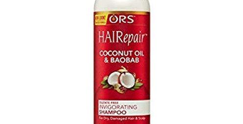ORS HAIRepair Coconut Oil and Baobab Sulfate-Free Invigorating Shampoo 370ml