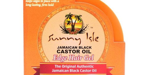 Sunny Isle Jamaican Black Castor Oil Edge Hair Gel – 3.5oz.