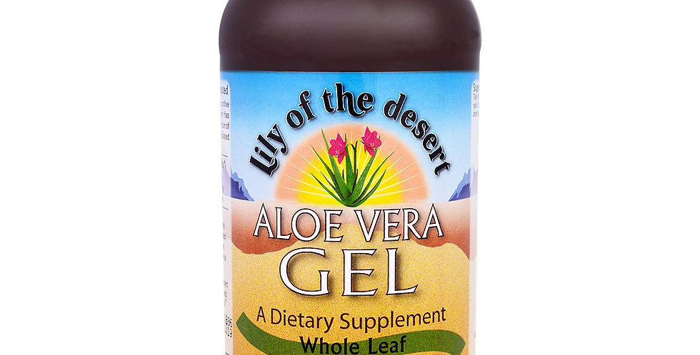 Lily of the Desert Aloe Vera Gel Whole leaf 32 fl oz (946)
