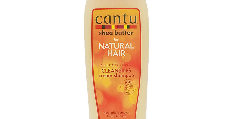Cantu For Natural Hair Sulfate-Free Cleansing Cream Shampoo