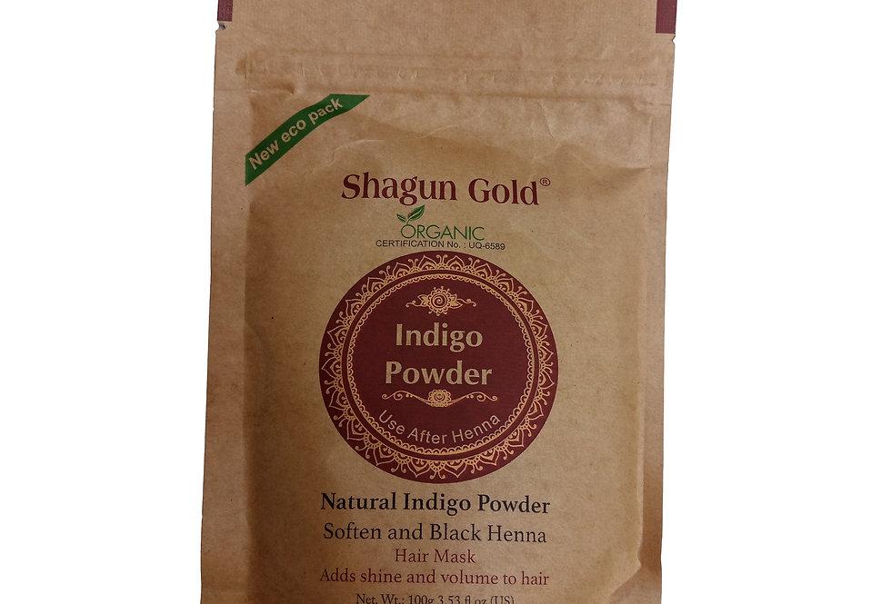 Shagun Gold Indigo Powder 100g