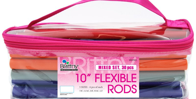Brittny 10″ Flexible Rods Set
