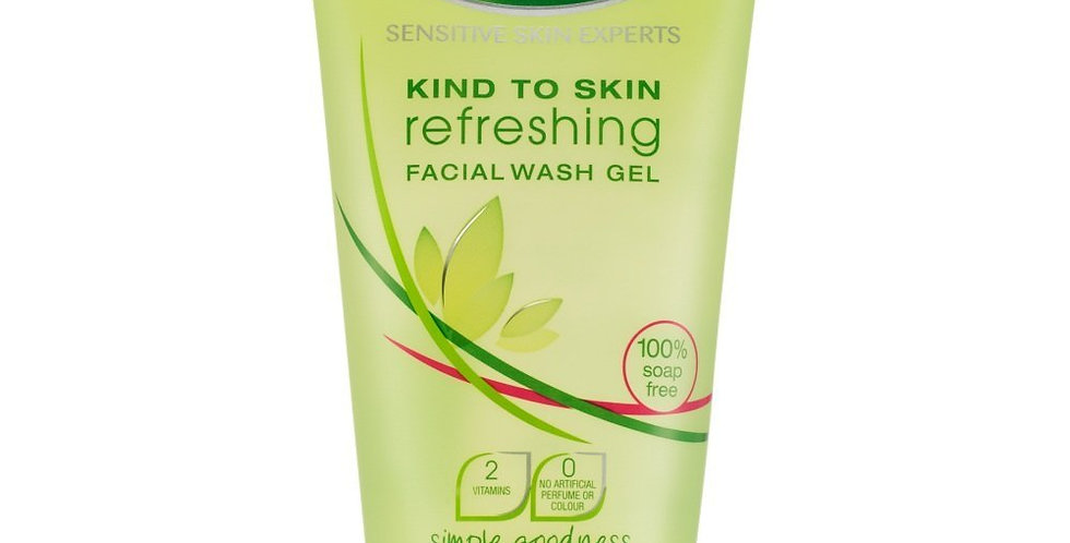 Simple Kind To Skin Refreshing Facial Wash Gel 150 ml