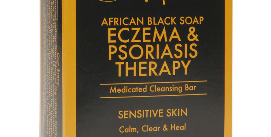 Shea Moisture African Black Soap Eczema & Psoriasis Therapy 141 g / 5 oz