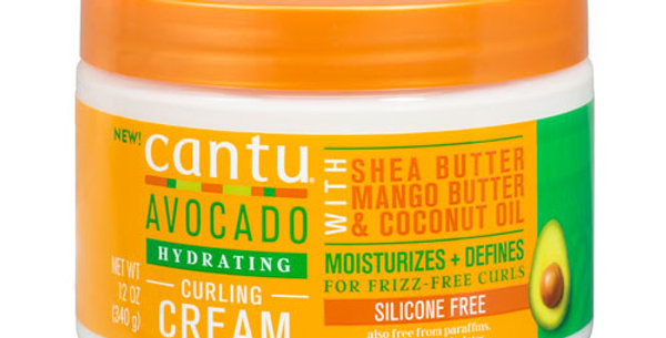 Cantu Avocado Hydrating Curling Cream 12 fl. oz./340g