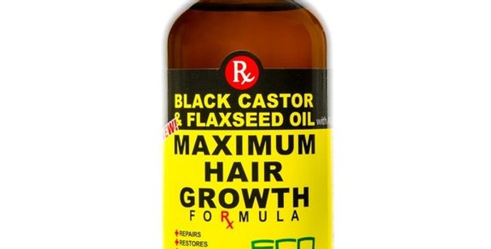 BLACK CASTOR & FLAXSEED OIL MAXIMUM HAIR GROWTH FORMULA