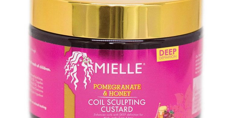 Mielle Organics Pomegranate & Honey Curl Sculpting Custard 12 oz.