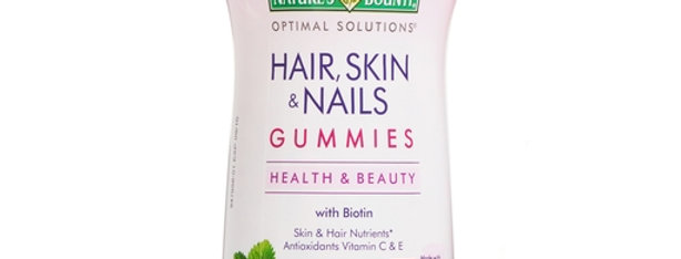 Natures Bounty Optimal Solutions Hair, Skin & Nails Strawberry 230 Gummies