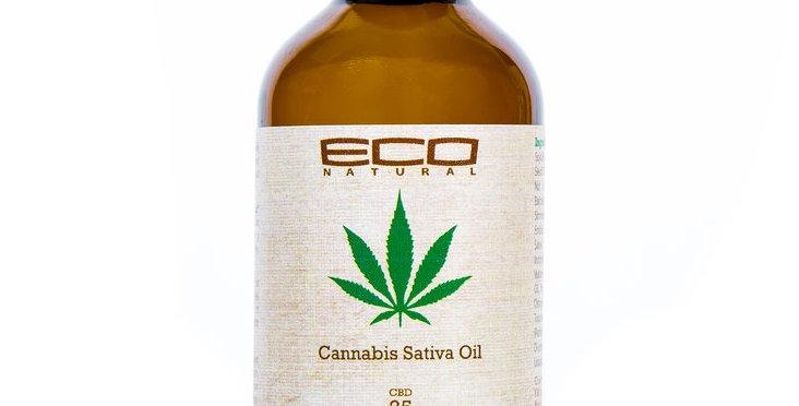 Eco Natural Cannabis Sativa Oil 2 oz. / 59 ml