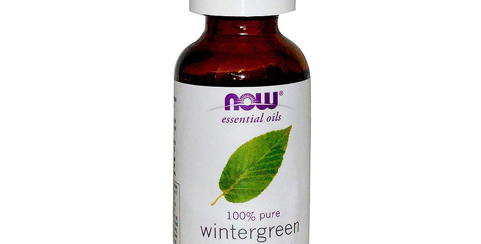 NOW Foods Essential Oils Wintergreen - 1 fl oz