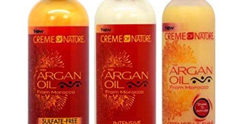 Creme of Nature Argan Oil Cleanse & Condition Bundle
