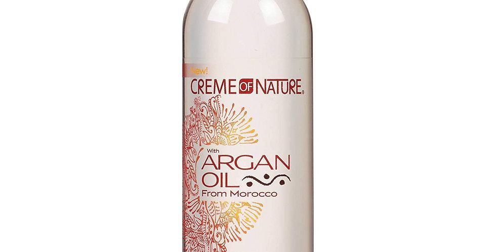 Creme Of Nature Argan Oil Heat Defense Gloss & Shine Hair Polisher Liquid 4.8 oz