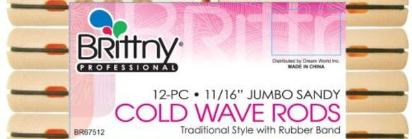 Brittny Cold Wave Rod - Jumbo Sandy