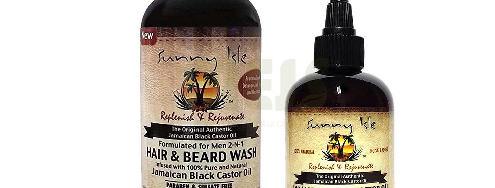 Sunny Isle Jamaican Black Castor Oil Duo